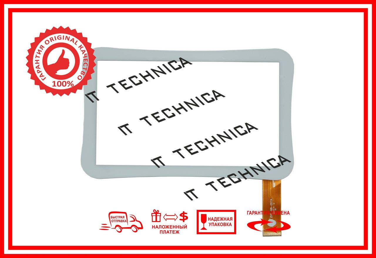 Тачскрін 179x111mm 30pin ZHC-Q8-057A БІЛИЙ Тип1