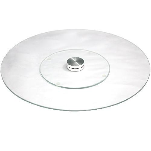 Подставка крутящаяся для торта 25см стекло