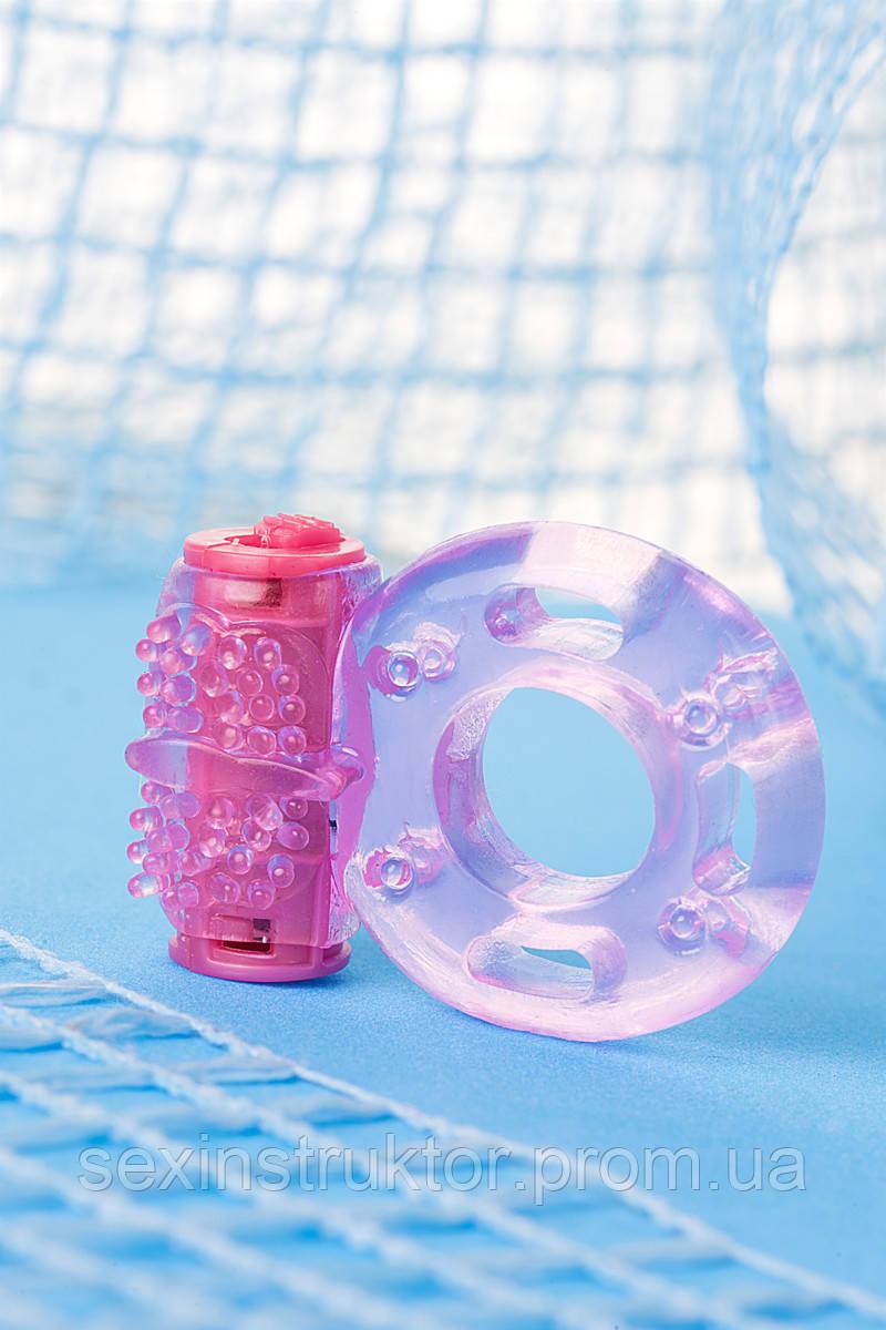 TOYFA, Vibrating ring, TPE, pink