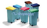 Бак для мусора Paderno 49899-04 красная крышка