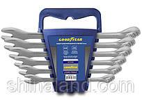 Набор ключей рожково-накидных 8-17мм, 6 единиц, CrV, Goodyear GY002206