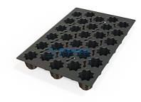 SQ053/YL Форма силиконовая Silikomart кекс 600x400 мм, d 76,5 мм, h 74 мм