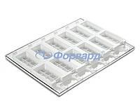 Набор для мороженого шоколад Silikomart GEL02 92х48х24мм, 2 формы, 1 поднос, 50 палочек