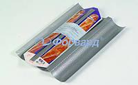 Форма для 3-ох багетов перфорированная Patisse 03664 38х24 см