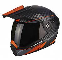 Мотошлем Scorpion ADX-1 Dual (оранжевый)