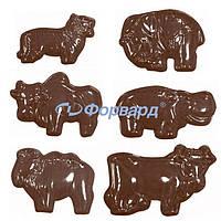 Форма для шоколада животные Martellato 90-11185