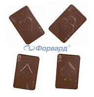 Форма для шоколада карты Martellato 90-13477