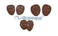 Форма для шоколада маска Martellato 90-13914