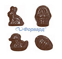Форма для шоколада животные Martellato 90-2119
