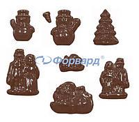 Форма для шоколада Рождество Martellato 90-4307