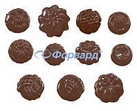 Форма для шоколада ассорти Martellato 90-5111