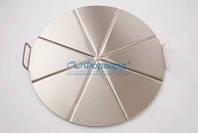 AC-CPMP50/8 Поднос ал.для разделения пиццы на 8 частей с двумя ручками GI.METAL
