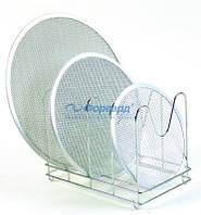 AC-PRV Держатель для сетки GI.METAL хромированный металл 36x22x26 см