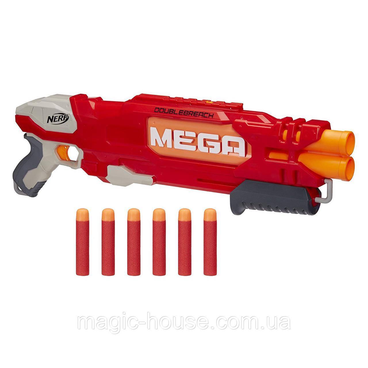 Бластер Nerf Мега ДаблБрич DoubleBreach Blaster
