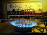 Установка газовой колонки.