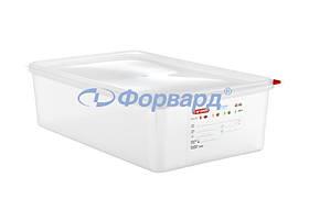 Емкость для хранения с крышкой GN 1/1 13,7 л Araven 03036 530х325х100 мм из полипропилена