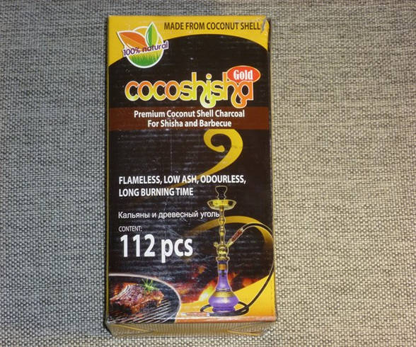 Уголь кокосовый Cocoshisha 1 кг