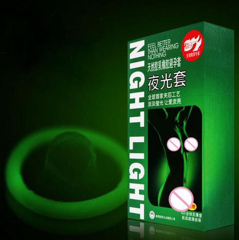 Презервативы неоновые , светящиеся в темноте