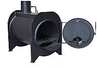 Буржуйка с камерой дожига вторичных газов KOZAK, фото 1