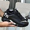 Мужские кроссовки Nike 8300 чёрные с белым