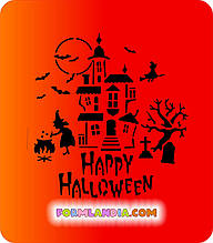 Трафарет для пряников Хэллоуин №3
