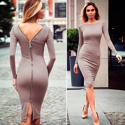 Платье с молнией сзади  189, фото 2