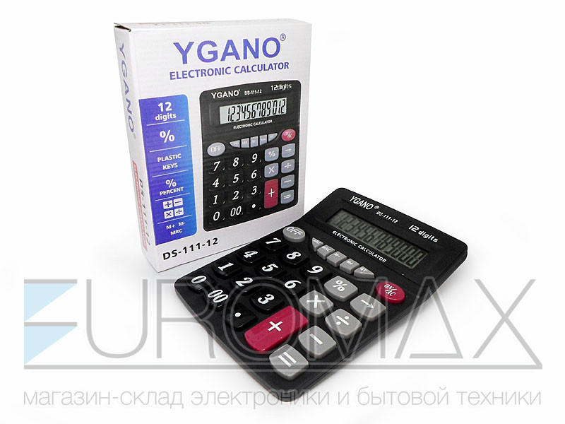 Калькулятор 1xAA CAL-111-12