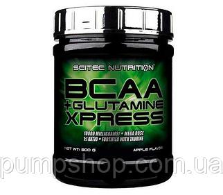 Бцаа+глютамін Scitec Nutrition BCAA+Glutamine Xpress 300 г (уцінка)