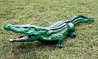 """Садовая фигура """"Крокодил"""" H-19см, L-100см, фото 1"""