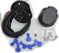 Электрокомплект к фаркопу универсальный Bosal (7-ми пиновый)/Электрокомплект к фаркопу универсальный Босал (7-ми пиновый)