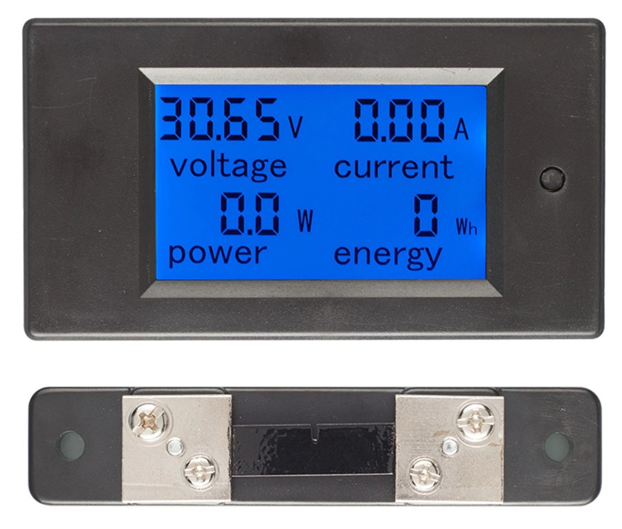 Ваттметр постоянного тока TS PZEM-051  DC 0-99 В ,ток 0-100 А