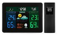 Метеостанция Excelvan TS-71 беспроводная цветная, фото 1