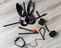 Наборы из маски наручников и чекера