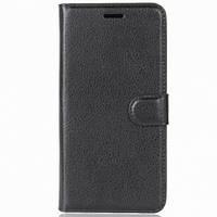 Чехол (книжка) Wallet Glossy с визитницей для Xiaomi Redmi 7A (Черный) 716055