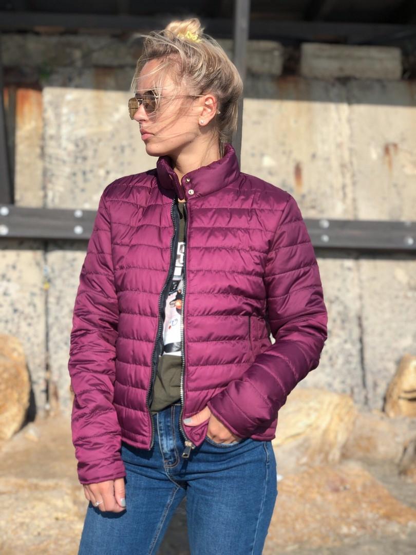 Куртка без капюшона женская