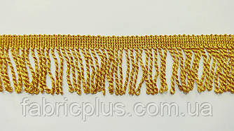 Бахрома  5 см золото