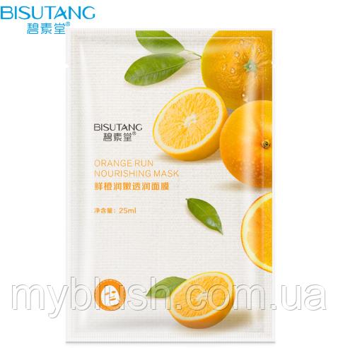 Маска для лица Bisutang Orange c экстрактом апельсина 25 g