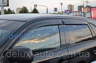 Ветровики Cobra Tuning на авто Mitsubishi ASX 2010 Дефлекторы окон Outlander Sport 2010 Ветровики RVR III 2010