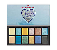 Makeup  I Heart Revolution Unicorns Heart Eyeshadow Palette