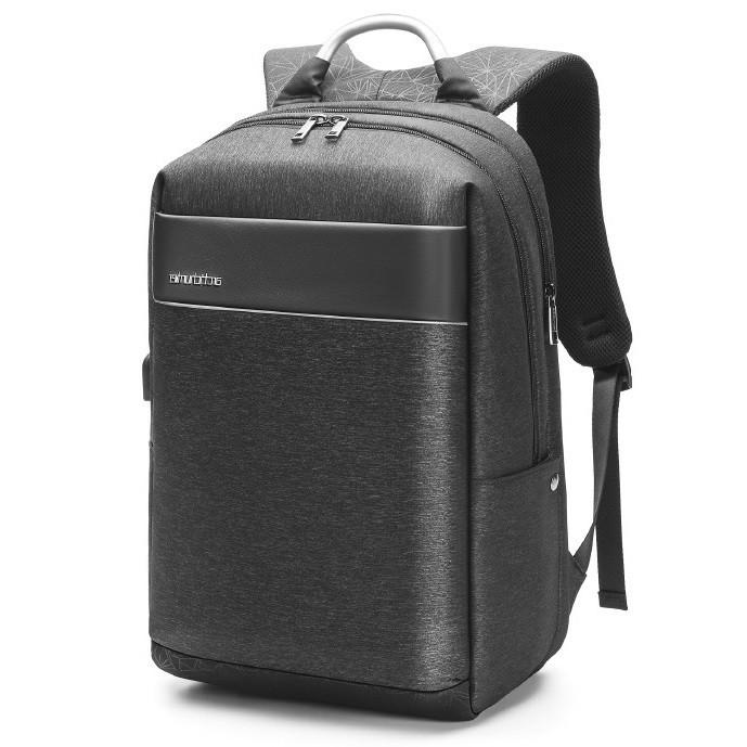 """Стильный деловой рюкзак Arctic Hunter B00218L для ноутбука до 17,3"""" и планшета до 9,7"""" , влагозащищённый, 32л"""