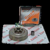 Тарелка сцепления цельная бензопилы 4500-5200 (к-кт сепаратор, NOKER )