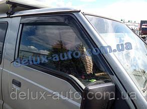Ветровики Cobra Tuning на авто Mitsubishi Canter 1990-2003 Дефлекторы окон Кобра для Митсубиси Кантер 1990
