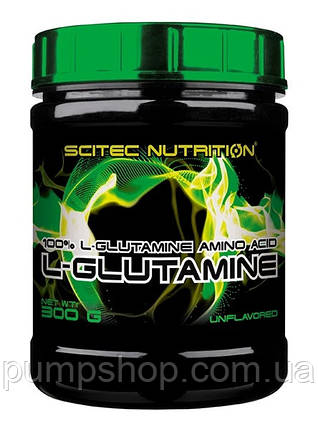 Глютамин Scitec Nutrition L-Glutamine 300 г, фото 2