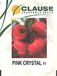 Пінк Кристал F1 10 шт насіння томату високорослого рожевого Clause, Франція, фото 4