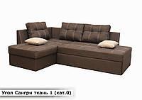 "Угловой диван ""Сангри"".  ""ткань 1"", фото 1"