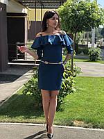 Женское платье из костюмной ткани   Poliit 8164, фото 1