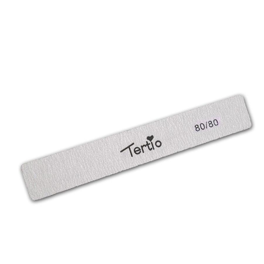 Пилка для ногтей прямая 80/80 Tertio