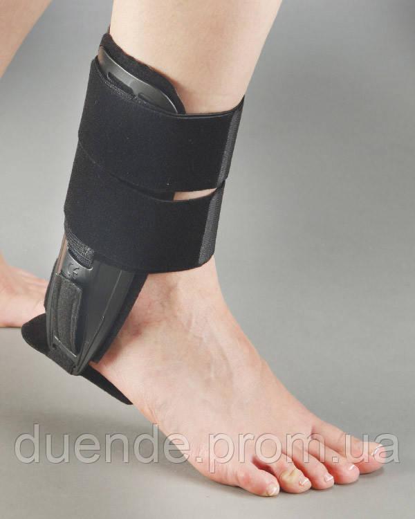 Бандаж на гомілковостопний суглоб сильної фіксації з гелевими вставками Aurafix Туреччина / Af - 410