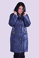 Демисезонное пальто из плащевки 48-60размеры