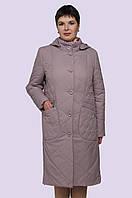 Женское демисезонное  пальто на легком утеплителе  52-62 размеры